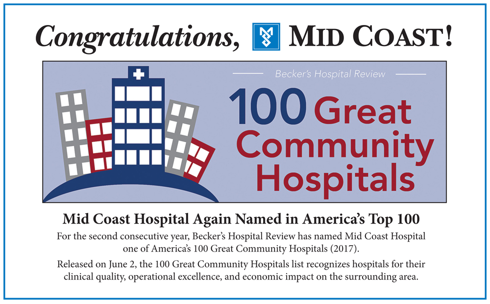 Medical Center named top 100 hospital; Medical Group makes Honor Roll