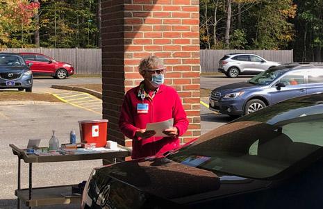 Drive-Thru Flu Shot Clinics
